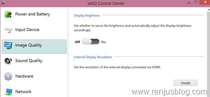 Sony vaio display problem