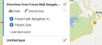 maps how to add destination