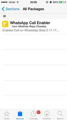 whatsapp call enabler