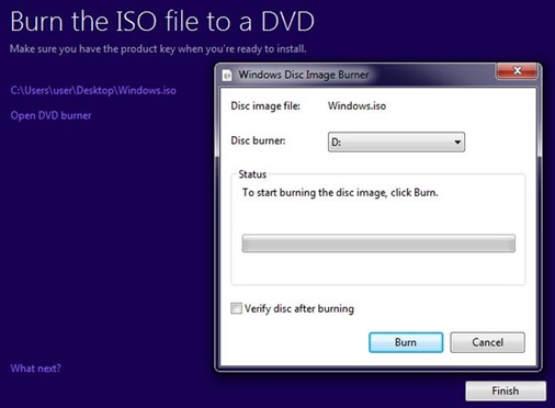 windows 10 DVD USB