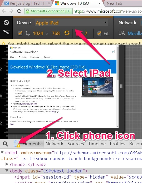 Windows 10 direct link trick
