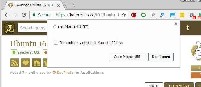 utorrent mac magnet link not working